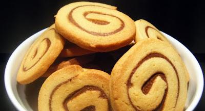 Receta : Espirales de Nutella