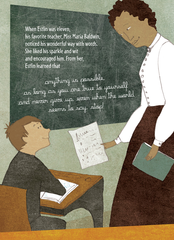 Creative Courage for Young Hearts 15 Emboldening Picture Books Celebrating the Lives of Great Artists, Writers, and Scientists - E.E. CUMMINGS