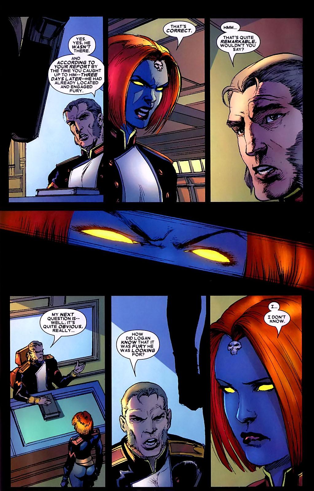 Read online Wolverine (2003) comic -  Issue #34 - 22