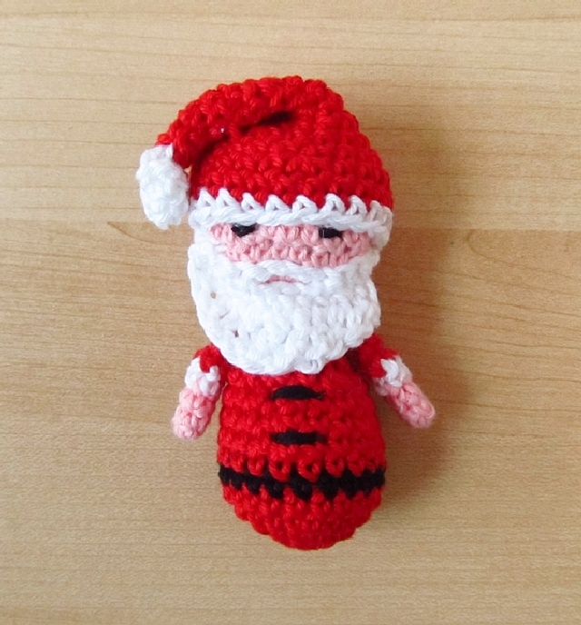 Amigurumi Father Christmas : Amigurumi Santa & Snowman Ornaments for She Knows - Little ...