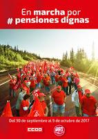 En marcha por #PensionesDignas