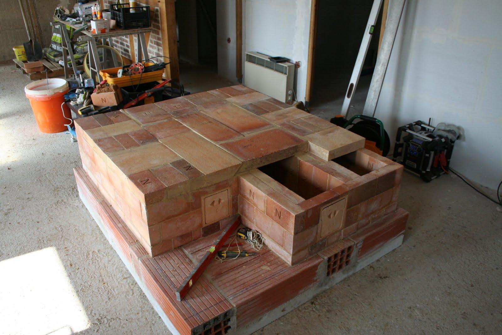 Plan Pour Foyer De Masse : Construction d un po�le de masse