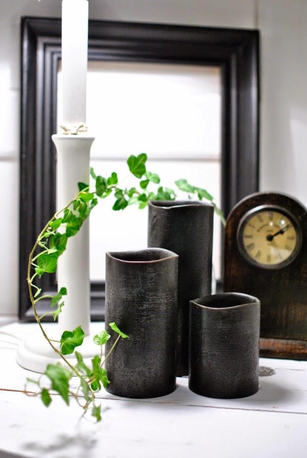 svarta enjoycandles murgröna