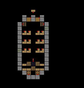 Layer 3  Minecraft Blueprints. Minecraft Layer By Layer Blueprints