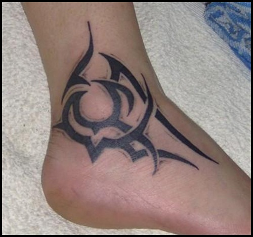 50 catchy ankle tattoo designs for girls for Ankle tattoos on men