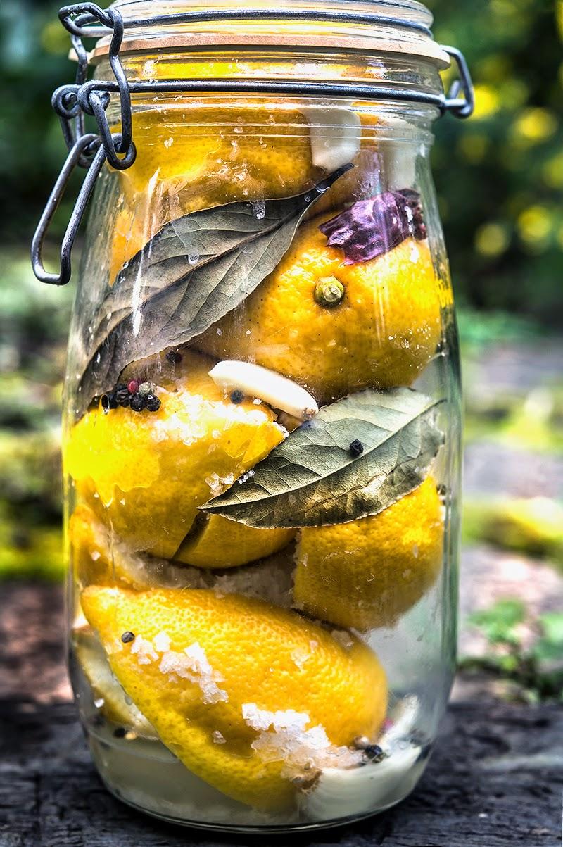Preserved Lemons - WILD GREENS & SARDINES