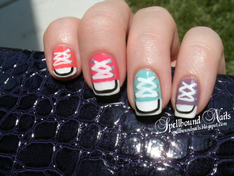 Colorful nail designs different variety