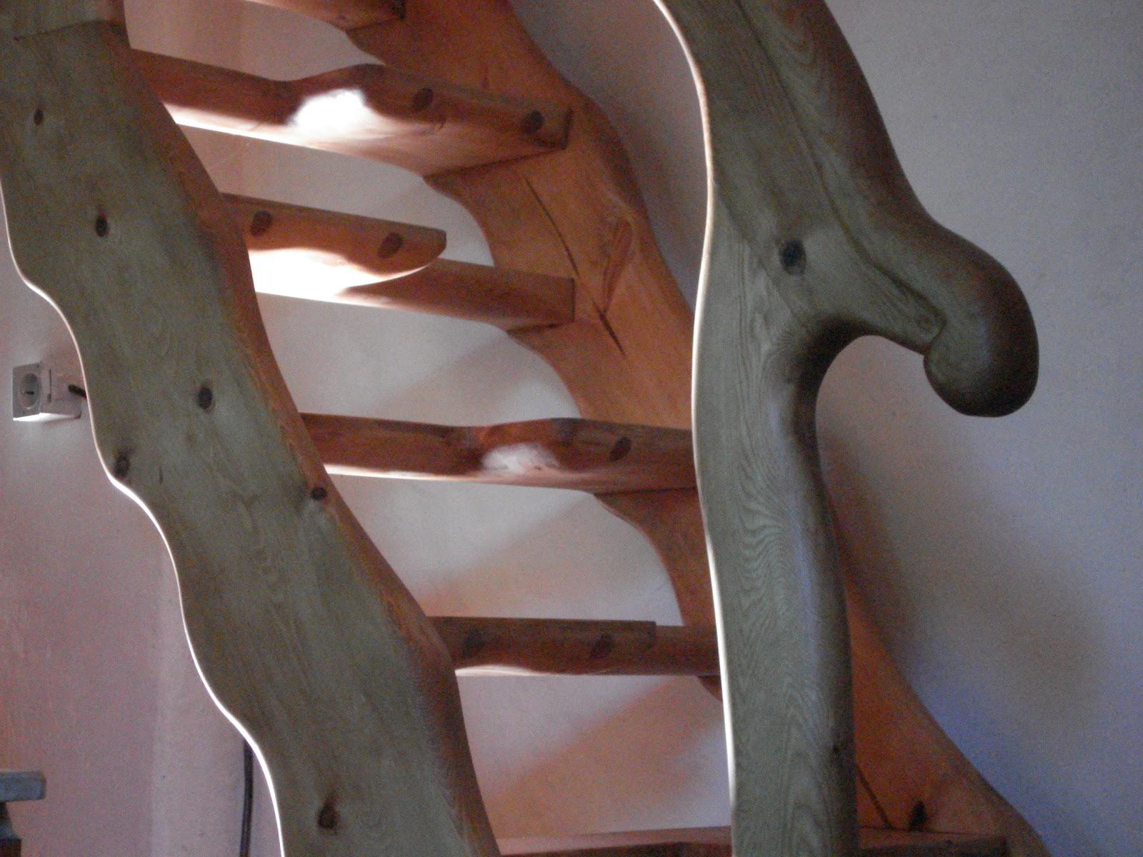 Miguel sevil carpintero escaleras y barandillas - Escalera japonesa ...