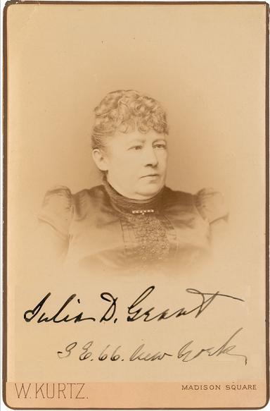President Ulysses S Grant Julia Dent Grant