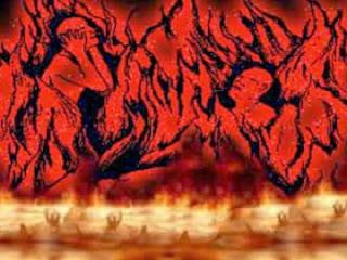Ilustrasi api neraka