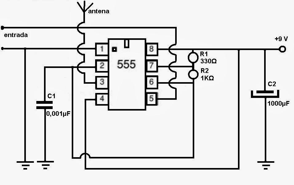 Circuito Simple : Electronica proyectos circuito transmisor de am
