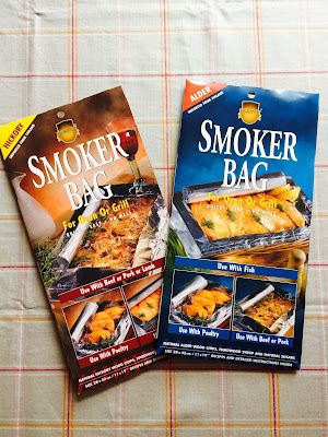 Finnish Savu Alder and Hickory smoker bags for coal and gas barbecue and oven use