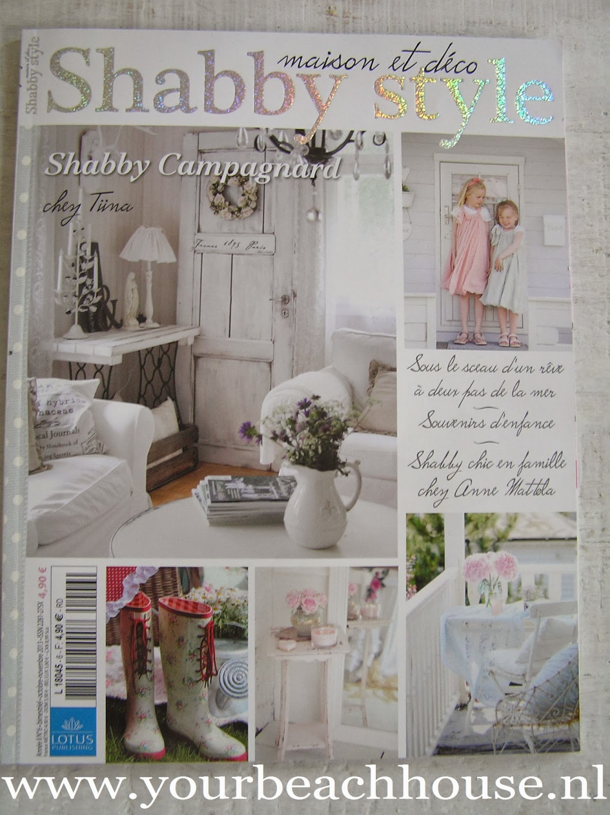 pastels and whites our home featured in magazine shabby style binnenkijker van ons huis in. Black Bedroom Furniture Sets. Home Design Ideas