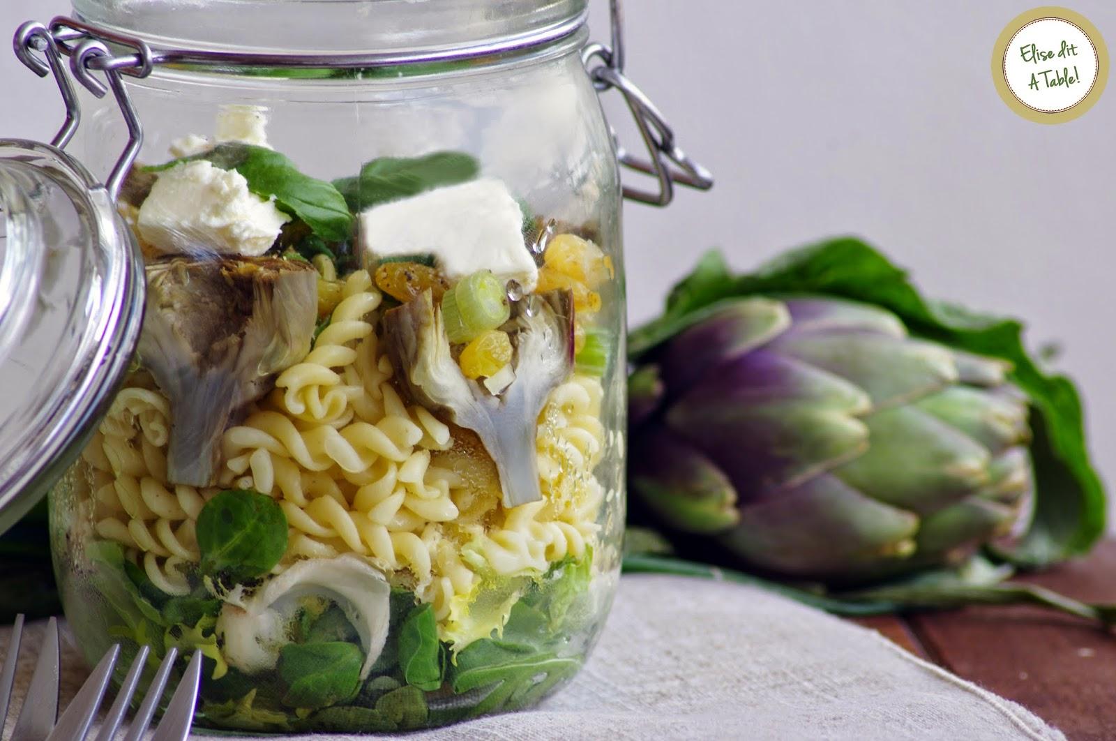 recette Salade artichaut violet