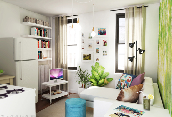 Studio Apartment Meaning tiny studio apartment decoration | my paradissi