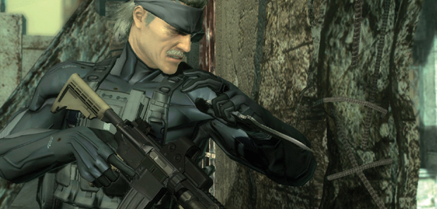 Metal Gear Solid 4 Goes Digital on PS3