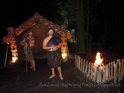 Rotorua, 羅托魯亞, Tamaki maori village