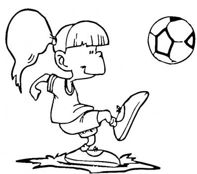 Disegni Di Calcio Da Stampare E Colorare