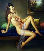 pinturas sensuais