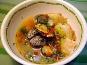Sopa malagueña