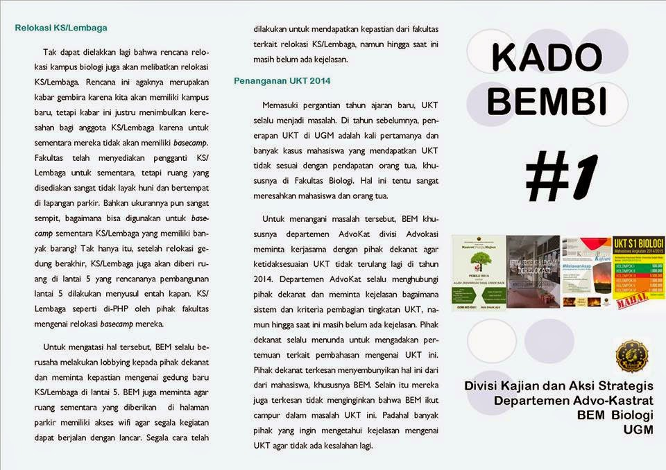 KADO BEMBI #1
