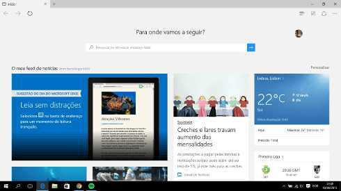 Qual o melhor navegador? microsoft edge