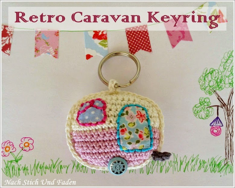 Freebook: Retro Caravan Keyring