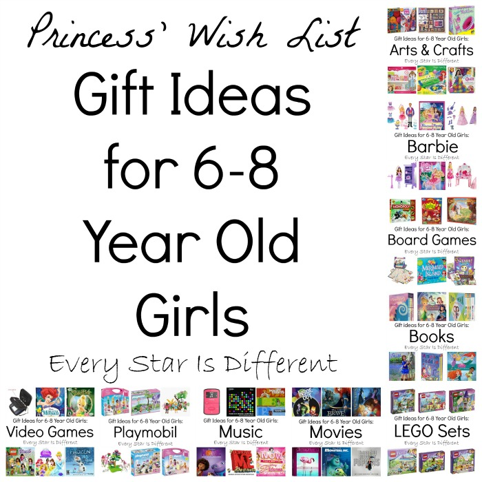 Gift ideas for 6 8 year old girls every star is different if you have a little girl to buy for im sure youll be able to find what youre looking for here in our gift ideas 6 8 year old girls negle Image collections
