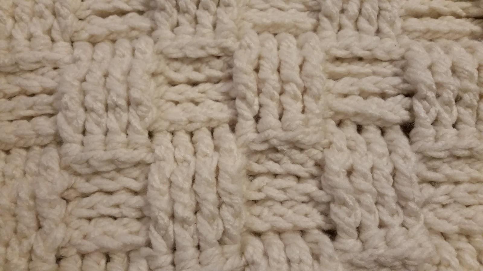 Erin\'s Crafty Endeavors: Waffle weave crochet pattern