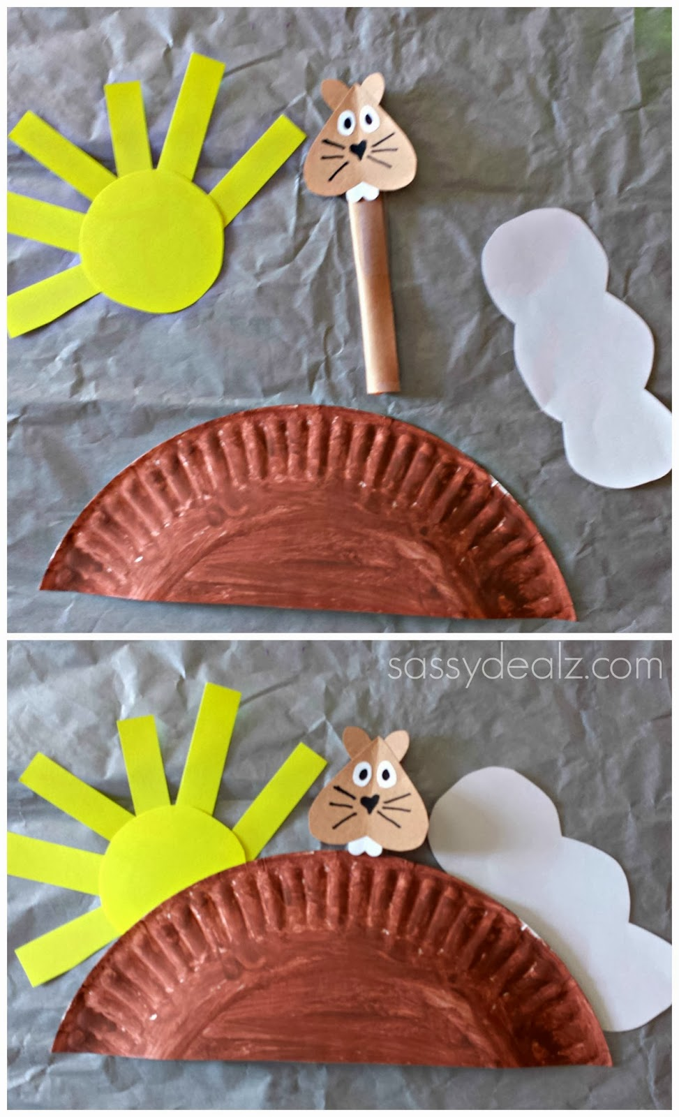 groundhog day craft for kids