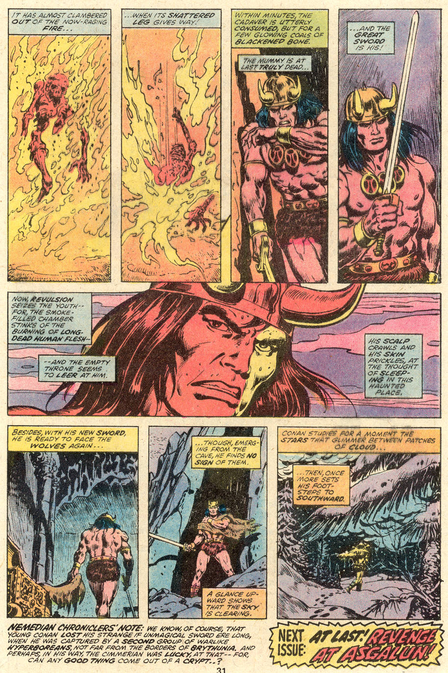 Conan the Barbarian (1970) Issue #92 #104 - English 18