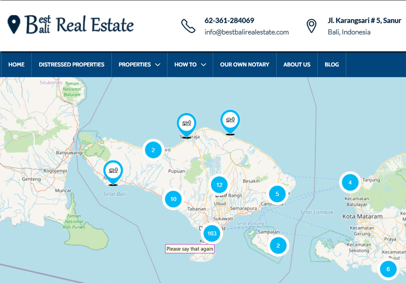 Best Bali Real Estate
