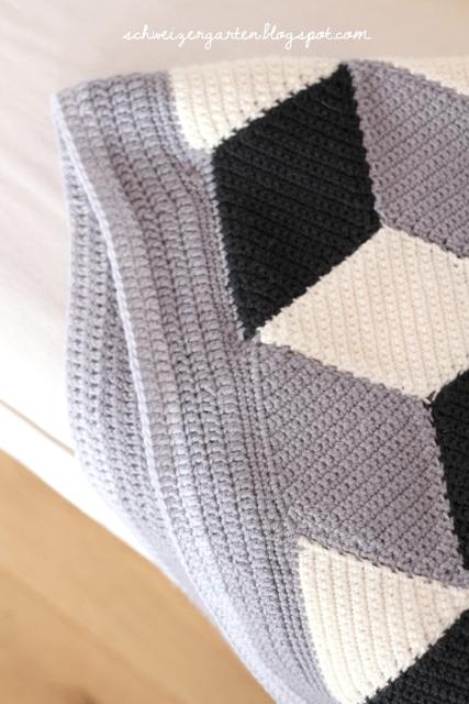 ein schweizer garten vasarely pattern die neue 3d. Black Bedroom Furniture Sets. Home Design Ideas