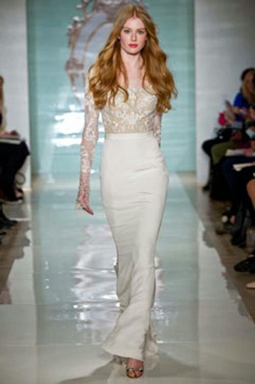 Wedding Dresses Spring 2015 Collection From Reem Acra