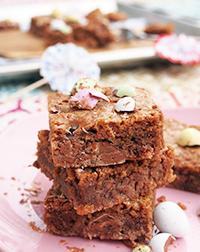 Suklaarae-browniet