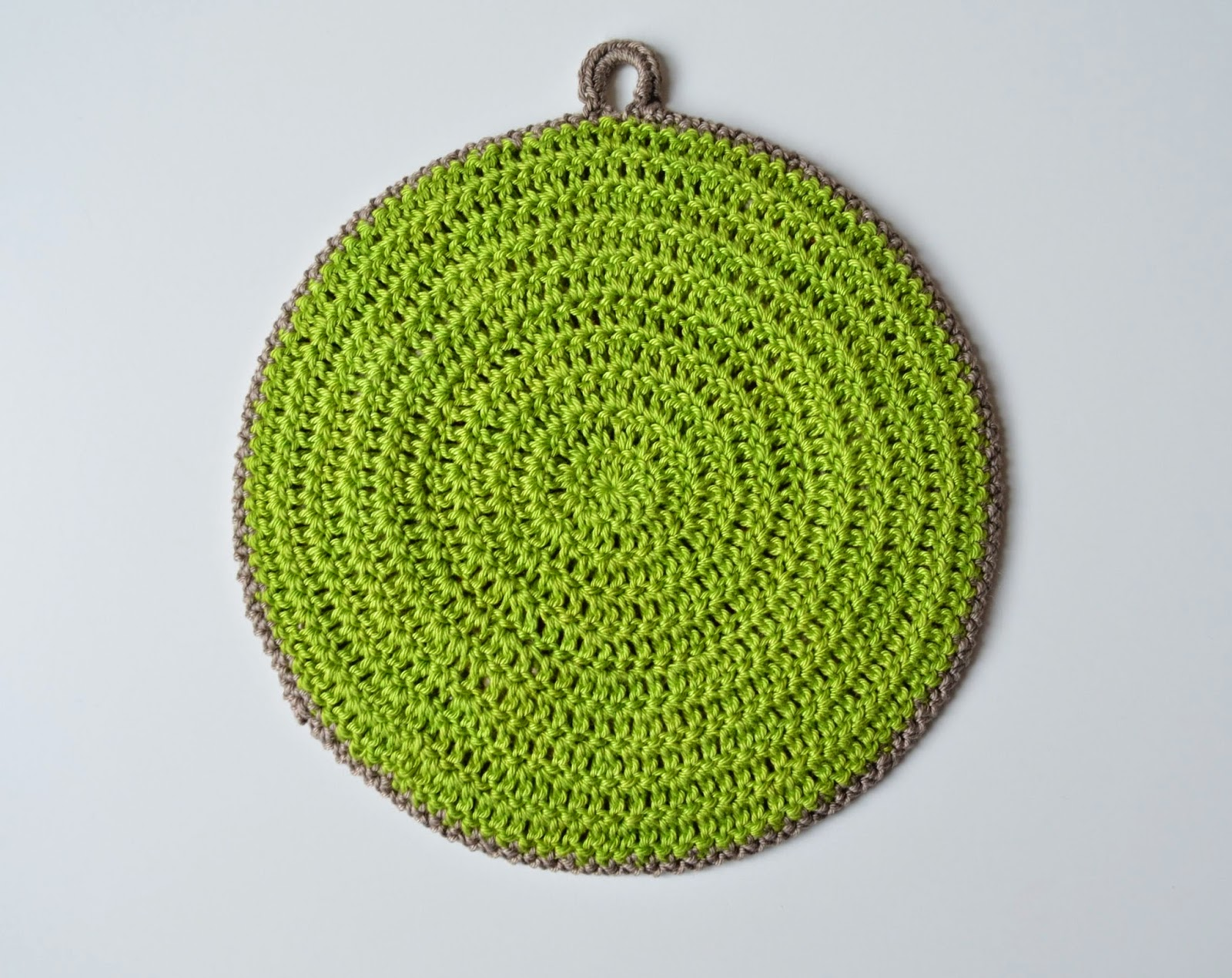 Crocheted potholders they can be different lillabj rn 39 s - Posavasos de ganchillo ...