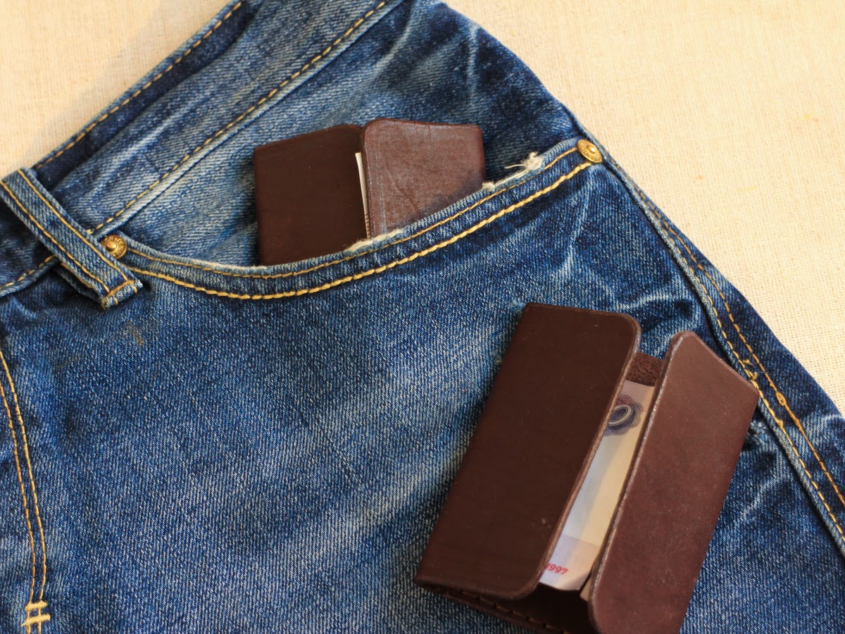 Купюрница в кармане
