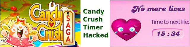 candy crush timer hacked