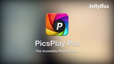 Aplikasi Edit Foto Terbaik PicsPlay Pro - FX Photo Editor