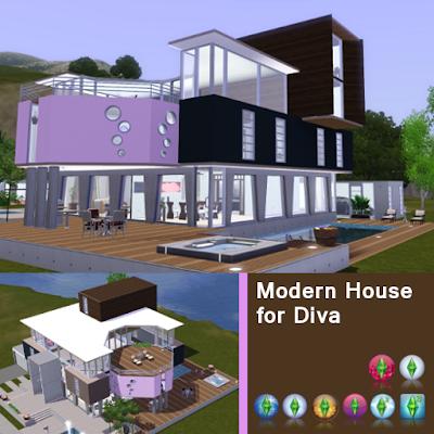 Modern House for Diva 1