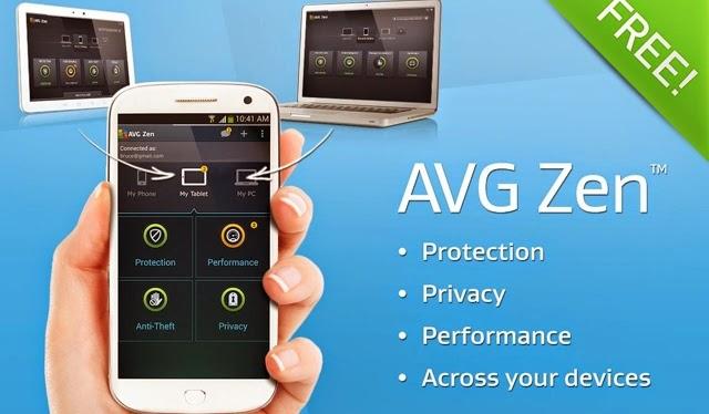 AVG Zen Admin Console