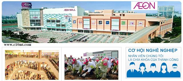 AEON Trung tâm mua sắm Nhật Bản lớn nhất tuyển nhiều vị trí