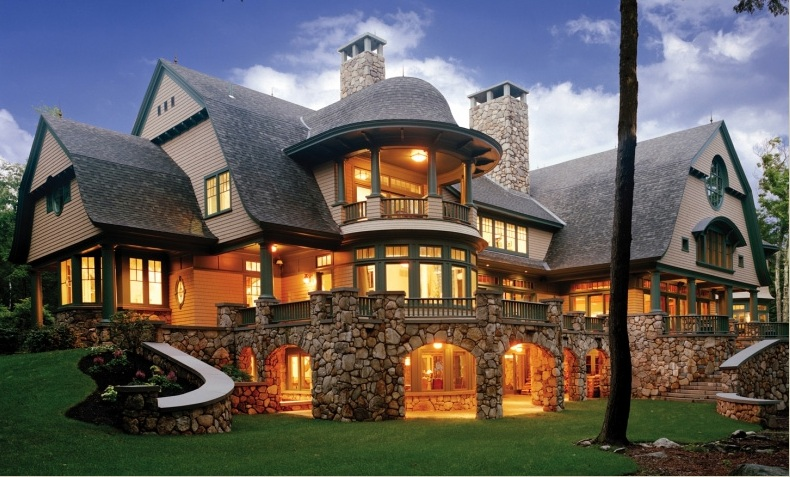 Luxury houses villas and hotels luxury house for Luxury lake house