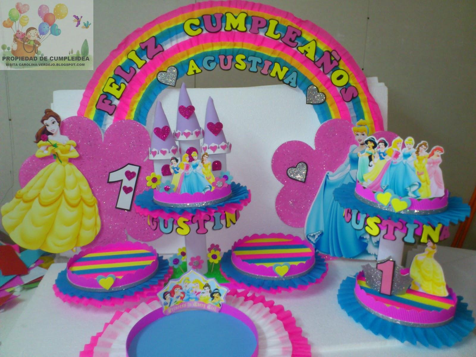 Decoraciones infantiles octubre 2012 - Decoracion fiesta princesas disney ...