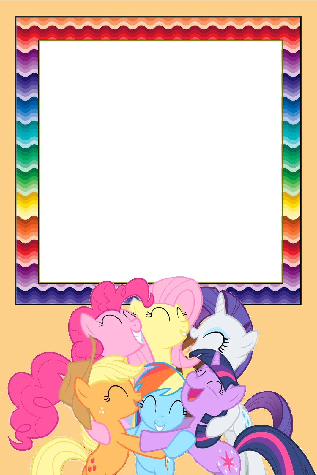 My Little Pony Invitaciones