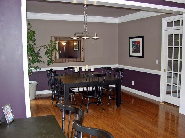 Wall paint ideas for dining room for Painting living room and dining room ideas