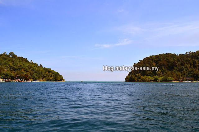 Coral Flyer Gaya Island