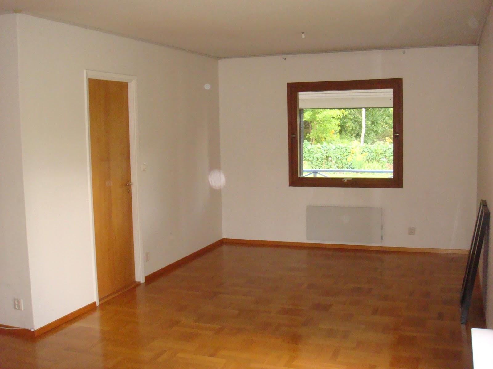 Svart på vitt: vardagsrummet