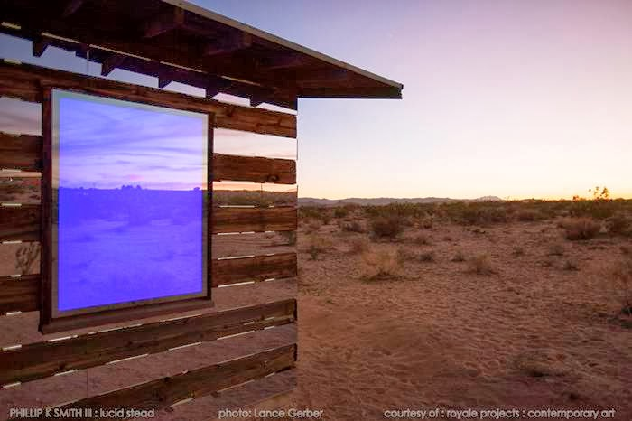 U.S. artist Phillip K. Smith III has created a striking and original piece of installation art called Lucid Stead in the desert near Joshua Tree, California