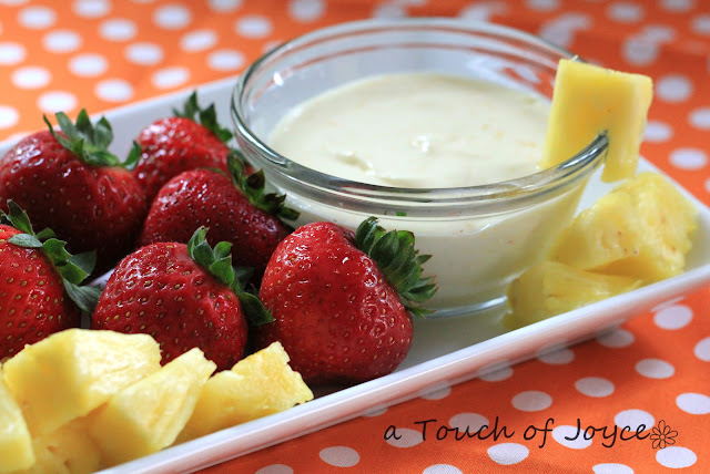 Touch of Joyce: Dreamsicle Fruit Dip